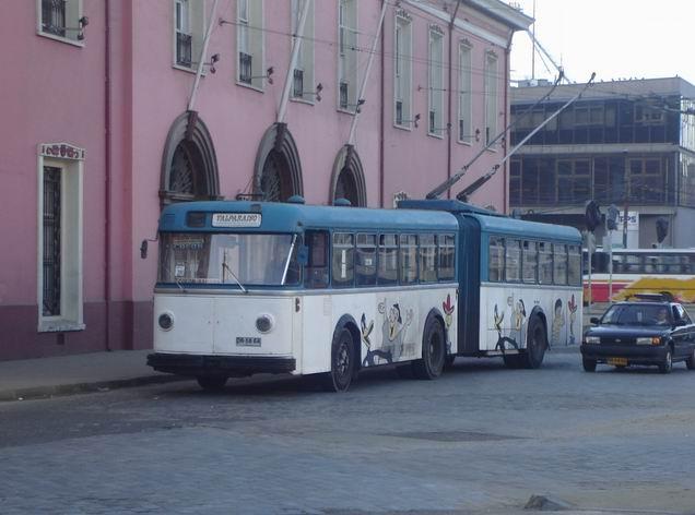 1957 FBW valparaiso 00 Trolleybus