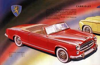 1957 peugeot 403 cabrio