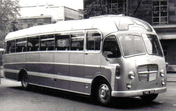 1957 Plaxton Consort bodied Bedford SB YWE 388