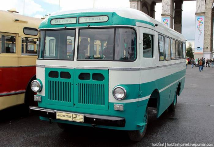 1957 RAF-251. The Riga Autobus Factory