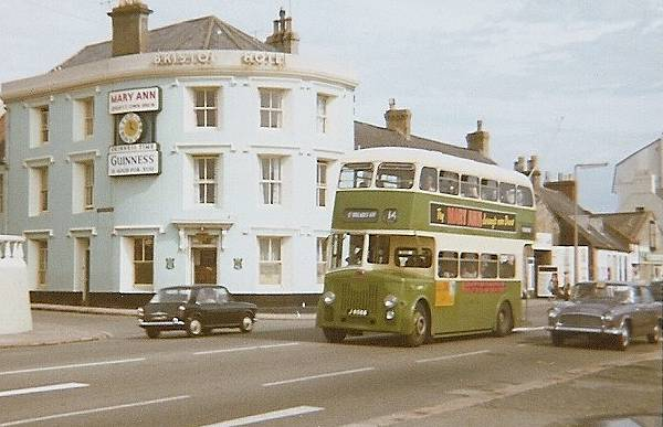 1958-59 Leyland PD2-31s with Reading H31-28R bodies