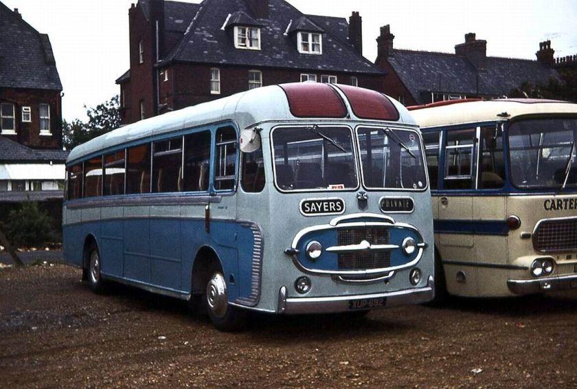 1958 Albion Aberdonian Plaxton Consort II C41F
