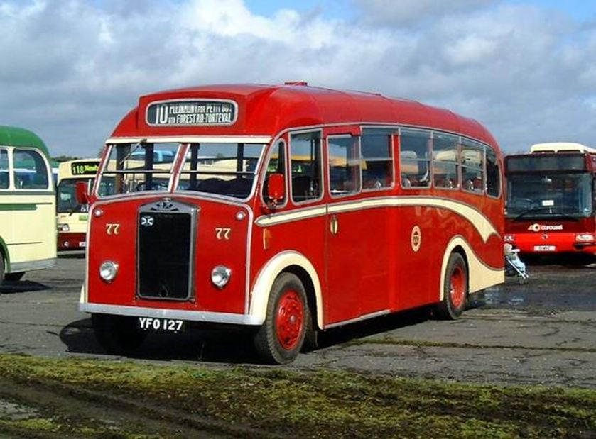 1958 Albion Victor Reading-bodied