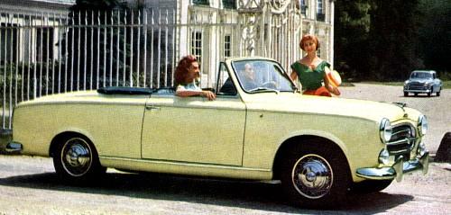 1958 peugeot 403 cab