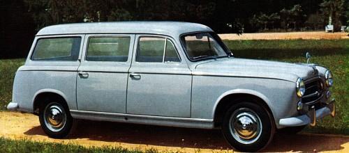 1958 peugeot 403 commerciale