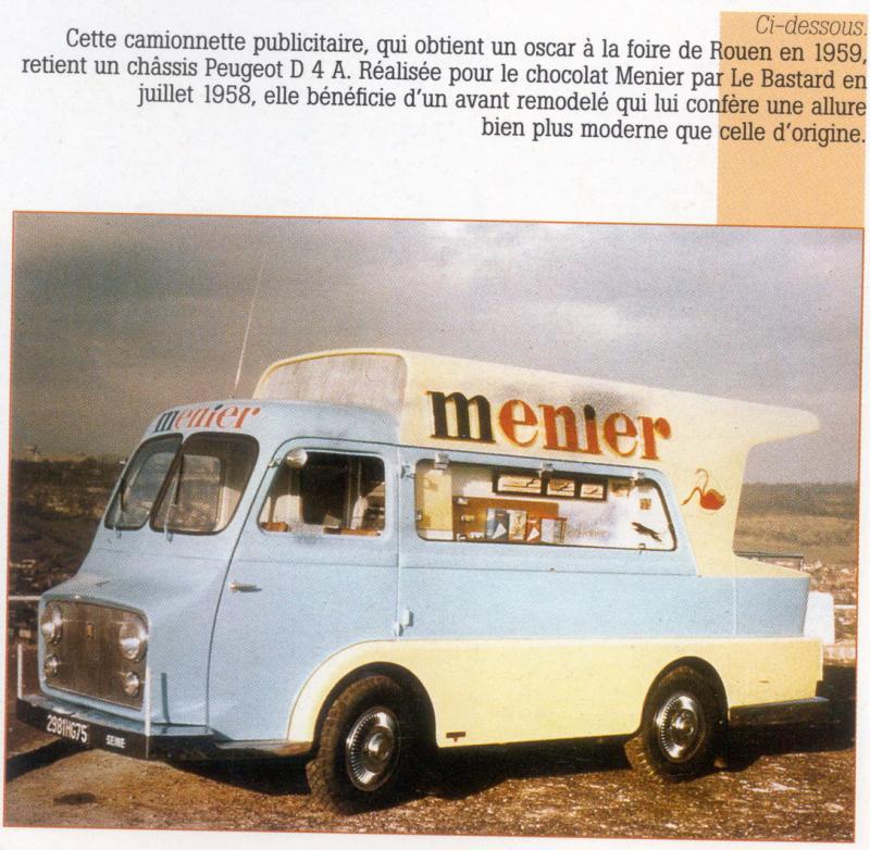 1958 Peugeot D4 AMenier Le Bastard