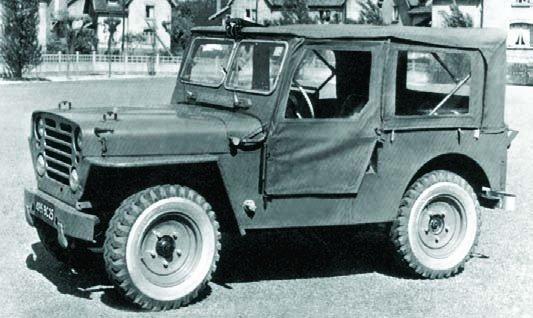 1958 Peugeot VSP, 4x4