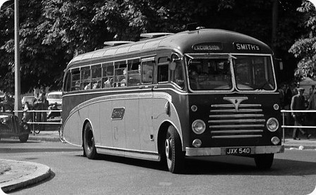 1958 Reading bodied Dennis Lancet J3JXK-540