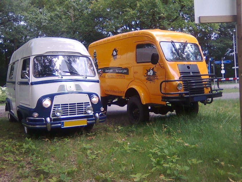 1958 Renault Estafette&Goelette