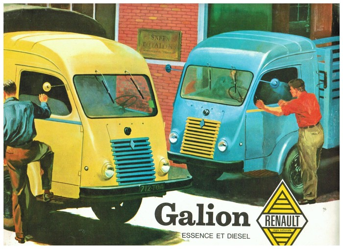 1958 Renault Galion Catalogue