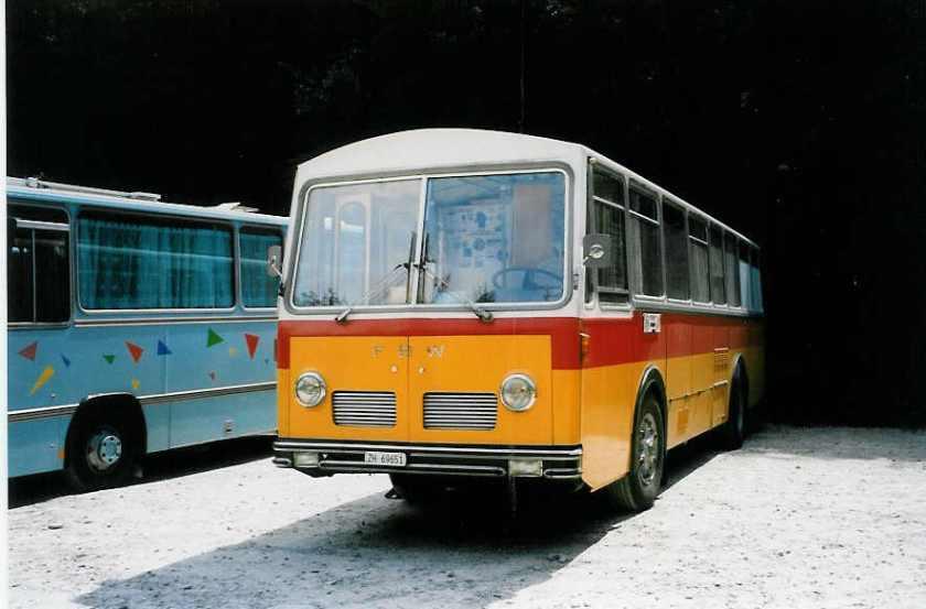 1959 FBW-R&J CH