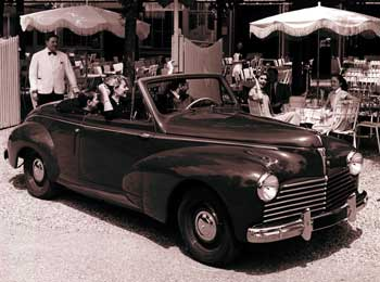 1959 peugeot 203 cabriolet