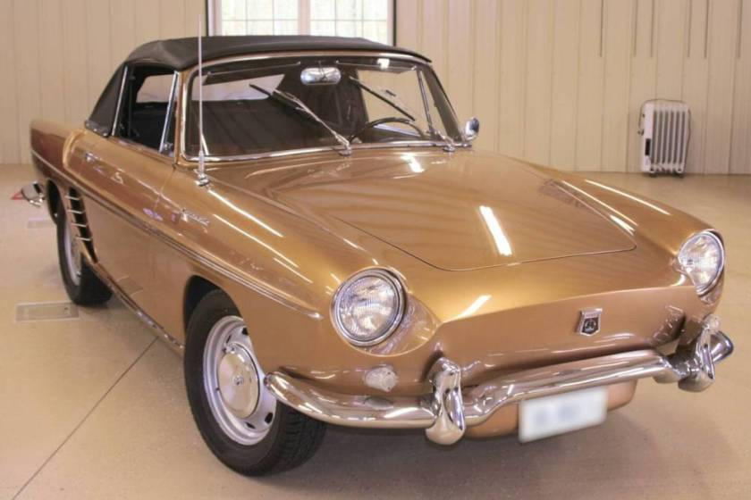 1959 Renault Caravelle Cabriolet Sports Car
