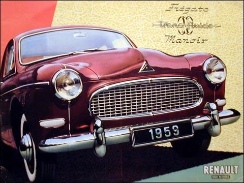 1959 Renault Fregate Manoir