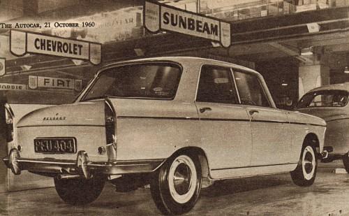 1960 peugeot 404 london