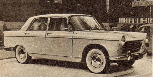 1960 peugeot '60 404