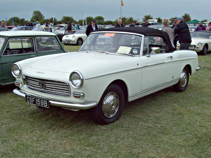 1961-69 Peugeot 404 Cabriolet
