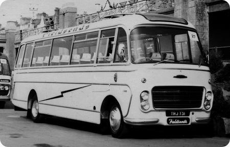 1961 Ford Thames Trader57OE TRJ731 Plaxton C41F