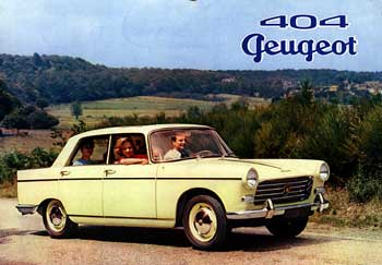 1961 peugeot 404