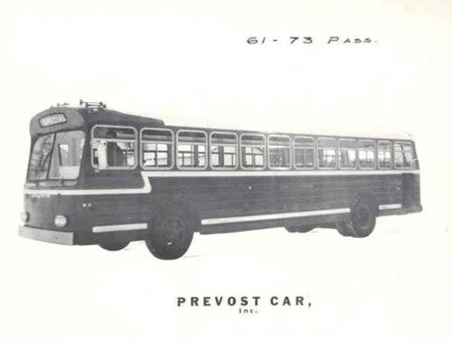 1961 Prevost GMC Bus Factory