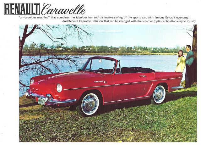 1961 Renault Caravelle USA Ad