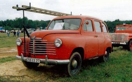 1961 Renault Colorale 4x4 brandweerwagen