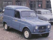1961 Renault R4 Fourgonnette