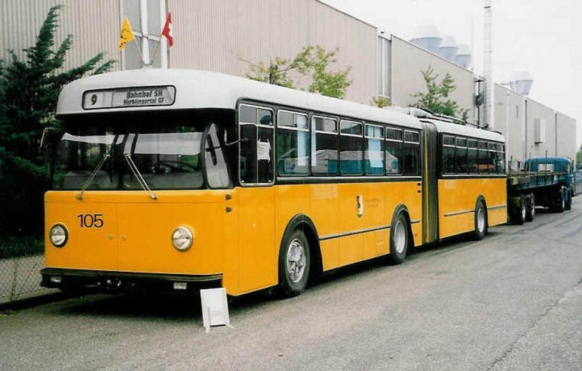 1962 Berna-SWS-R&J Gelenktrolleybus