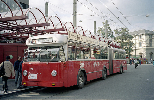 1962 FBW Trolleybus 119