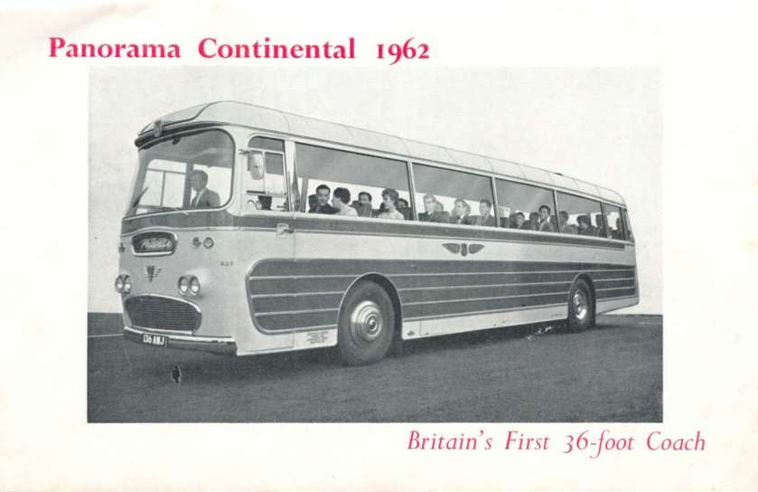 1962 Plaxton bodied AEC Reliance 326