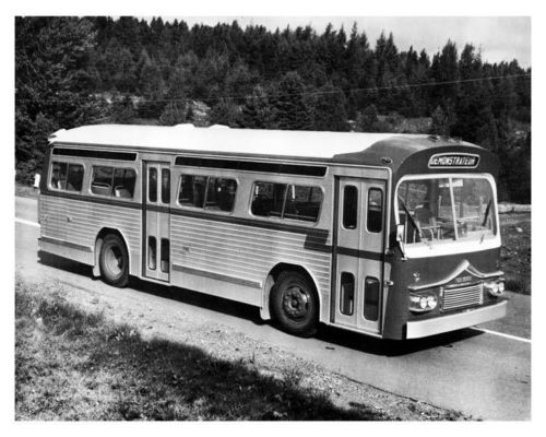 1962 Prevost GMC Bus Factory