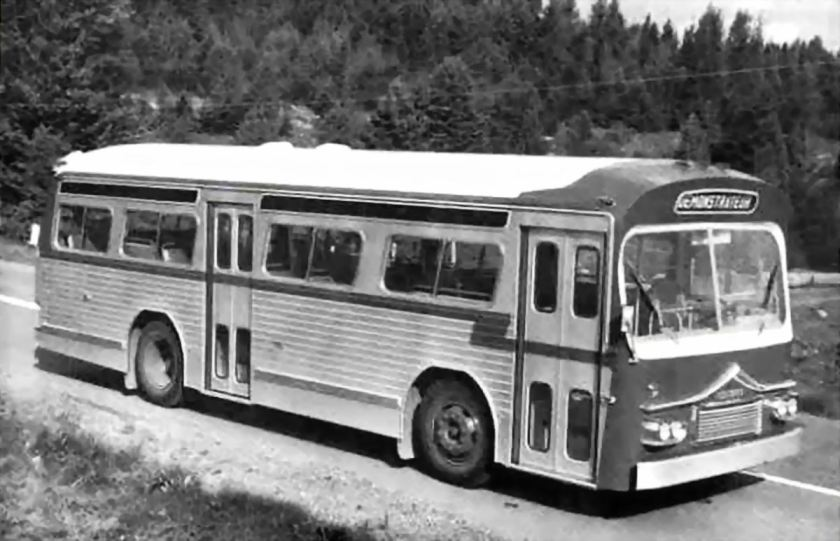 1962 Prevost Model 49-S Transit Bus