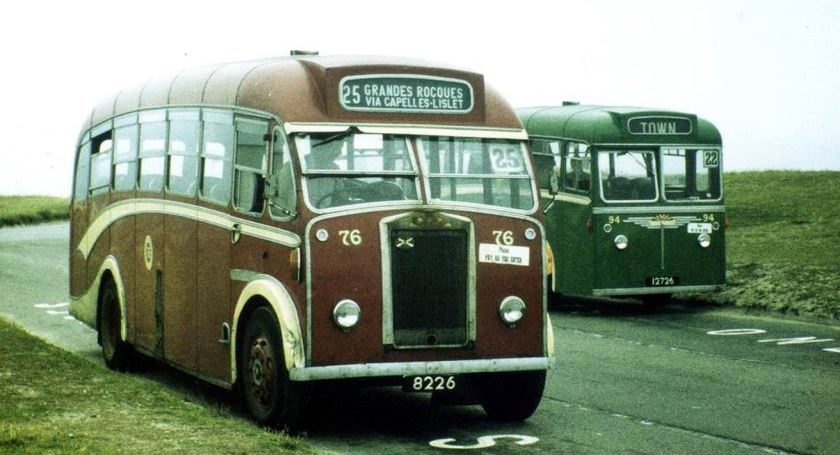 1963 Albion's 76, reg 8226, and 94, reg 12726 with Reading B35F body