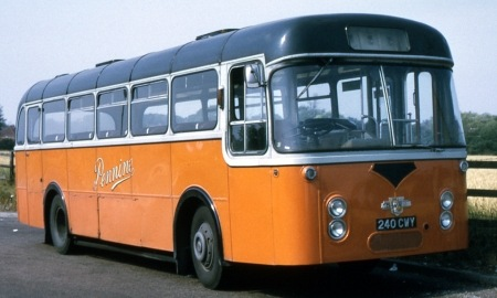 1963 Pennine Motor Services Leyland Leopard L2 Roe B49F240-CWY_lr