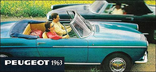 1963 Peugeot 1963 range