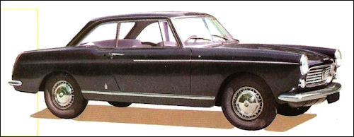 1963 Peugeot 404 Coupe
