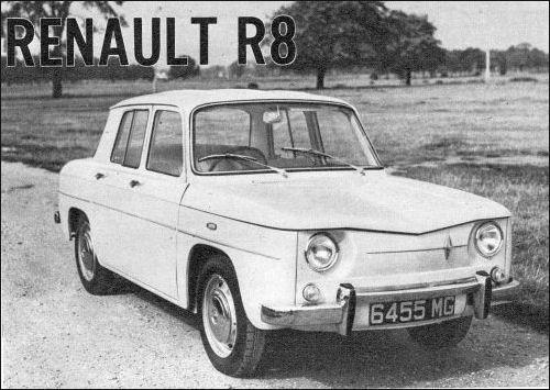1963 renault 1963 8