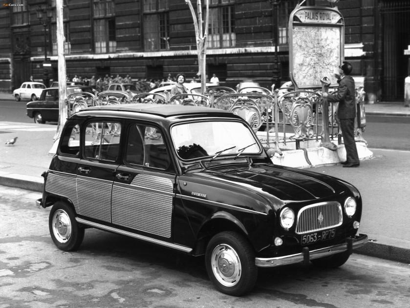 1963 Renault 4 La Parisienne 1963–67