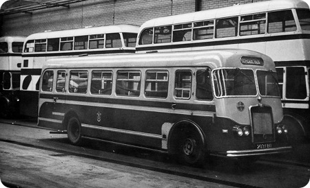 1963 Seddon MK17L 203FBUSeddon B36F