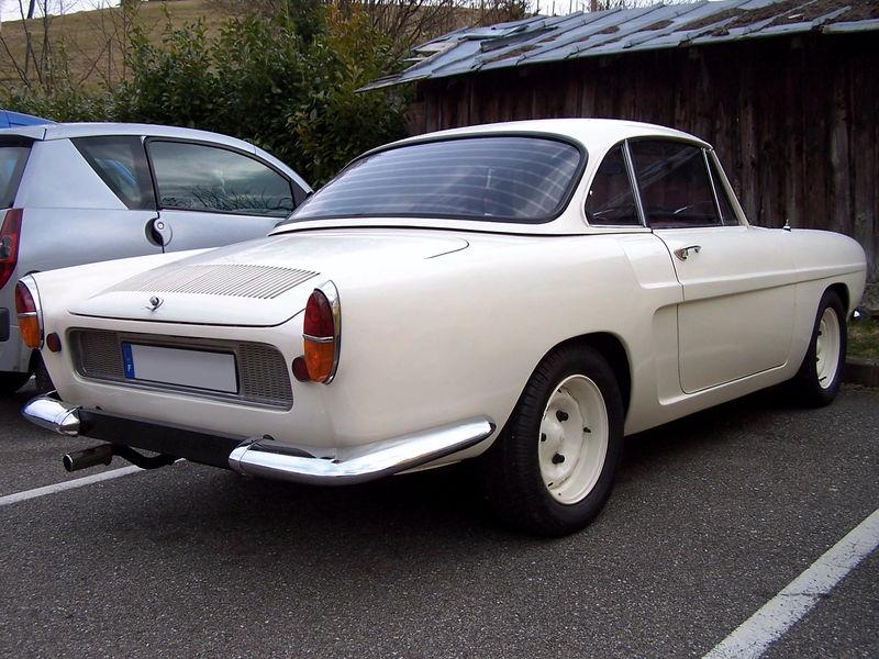 1964-65 Renault caravelle 1100 cabriolet