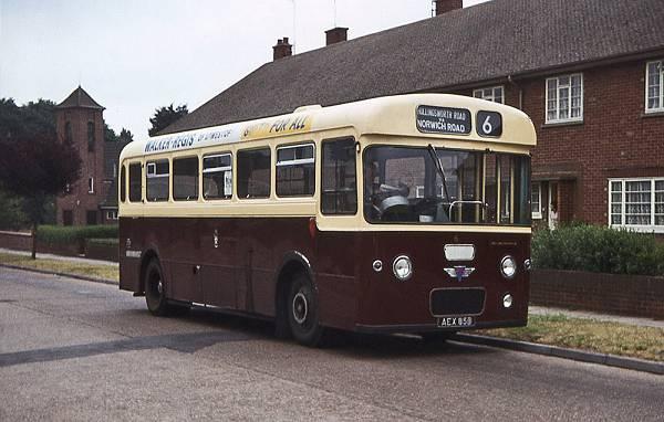 1964 AEC Reliance Pennine Coachcraft B39F