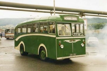 1964 Albion Nimbus NS3AN Reading B35T body EBW-112B