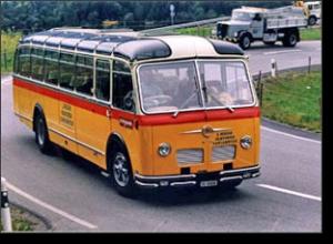 1964 FBW Ramseier ubd Jenzer Luxusbus