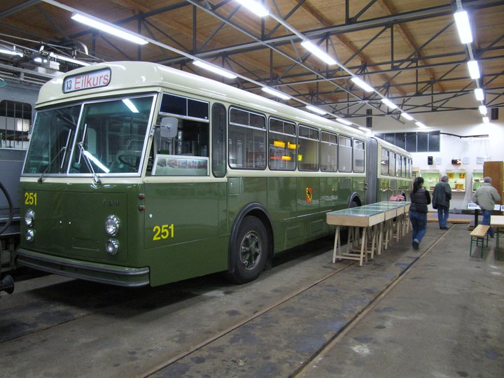 1964 FBW Trolleybus