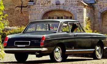 1964 Peugeot 404 coupe a