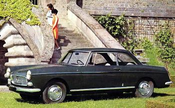 1964 Peugeot 404 coupe