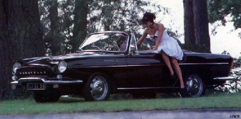 1964 renault caravelle 1100-1
