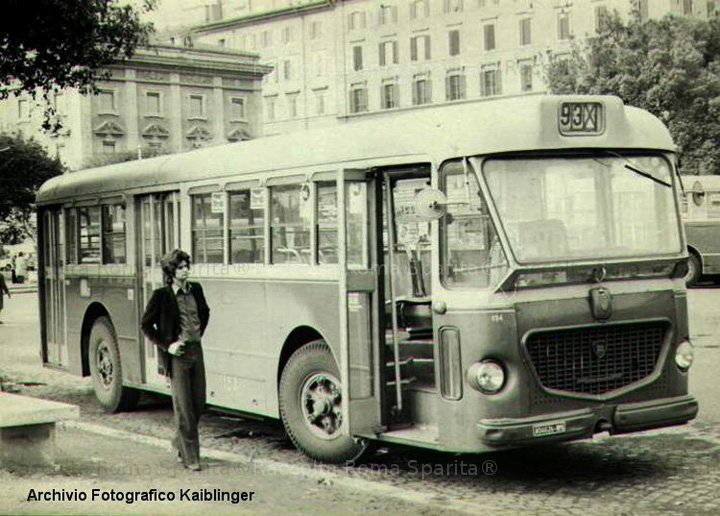 1965 Autobus Lancia Esagamma 718 Pistoiesi