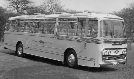 1965 batch of Leyland Leopards with WA's specified centre-entrance Plaxton Panorama bodies