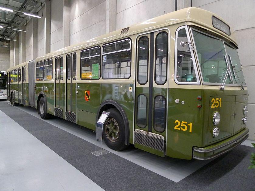 1965 FBW Ramseier Jenzer SWS Gelenkautobus